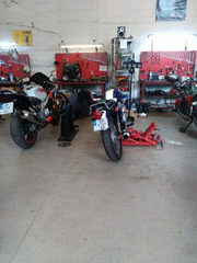 Ремонт мотоцикла Suzuki,  Kawasaki,  Yamaha,  HONDA,  Aprilia,  Piaggio